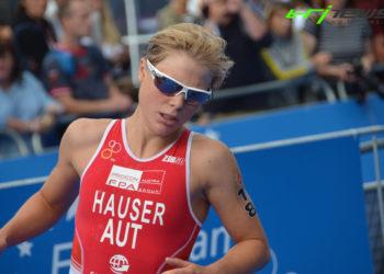 Technischer Defekt bei Hauser bei Sprint Triathlon EM 3