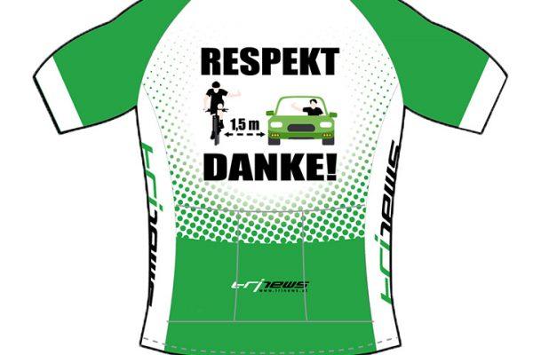 Respekt - Das Radtrikot für Radfahrer 1