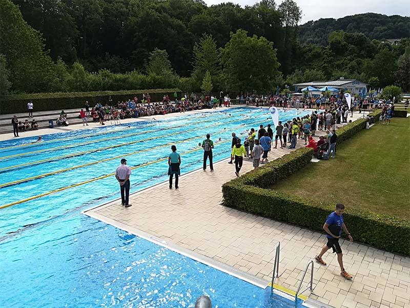 Startschuss zum Eisenwurzen Triathlon