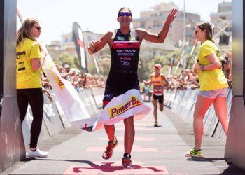 Lisa Hütthaler gewinnt beim IRONMAN 70.3 Pescara   Getty Images for IRONMAN
