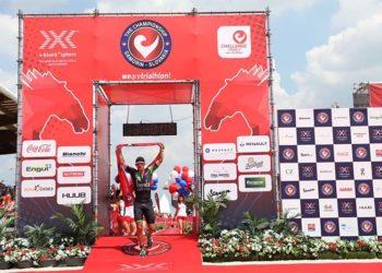 """Lionel Sanders gewinnt """"The Championship"""" bei der Challenge Samorin 2017"""