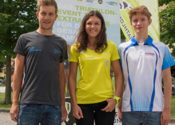 Favoriten des Trumer Triathlons