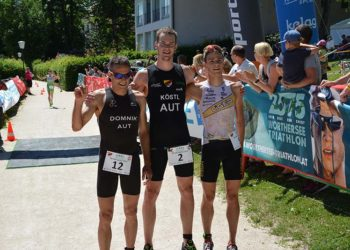 Die Sieger beim Wörthersee Triathlon 2017