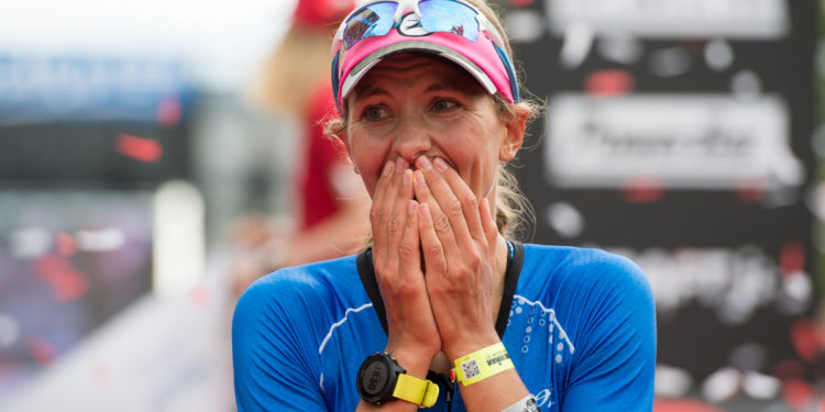 KLAGENFURT, AUSTRIA - JULY 02: X competes during the X leg of Ironman Austria on July 2, 2017 in Klagenfurt, Austria. (Photo by Lennart Preiss/Getty Images for Ironman )