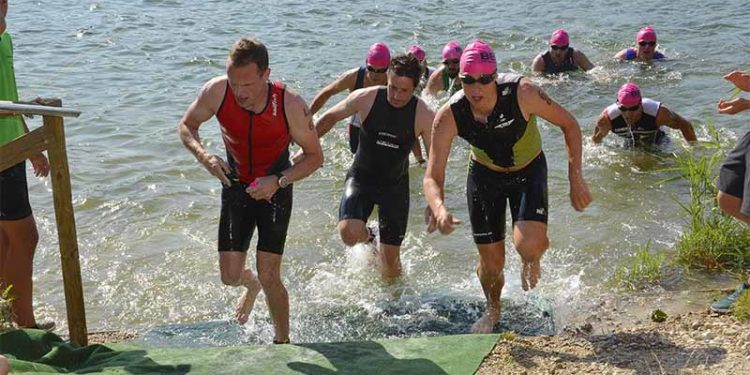 Schlagbauer gewinnt Gösselsdorfersee Triathlon 1