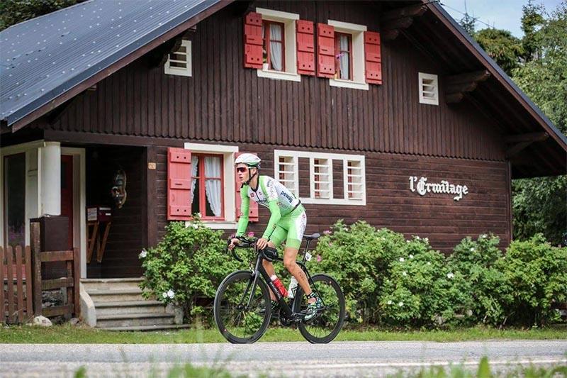 Ohne Sattel: Steger steigt bei Triathlon Alpe d Huez aus 1
