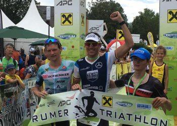 Sieger Horst Reichel mit Andreas Giglmayr und Stefan Hehenwarter | Photo: trinews.at