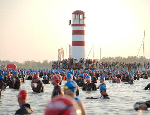 Austria Swim Open auf der Strecke des Austria Triathlon Podersdorf