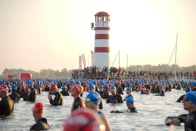 Teilnehmerrekord bei Jubiläums Austria Triathlon Podersdorf 1