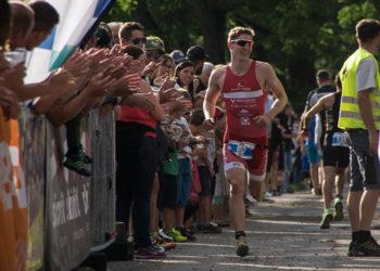 Lukas Pertl siegt beim Jannersee Triathlon 2017
