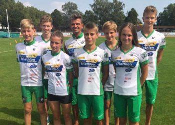 Erfolgreiche Saison für das NÖ Landesleistungszentrum Triathlon in Amstetten 2