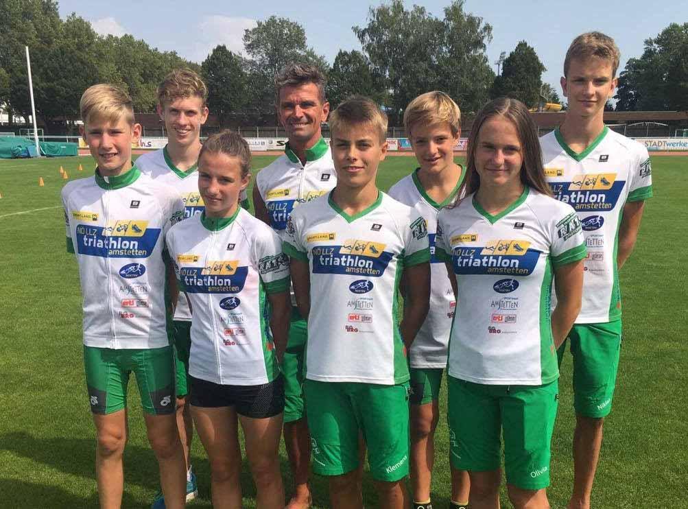Erfolgreiche Saison für das NÖ Landesleistungszentrum Triathlon in Amstetten 1