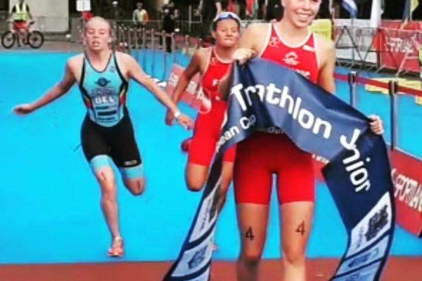 Totschnig feiert Junioren Europacup Sieg in Riga 1