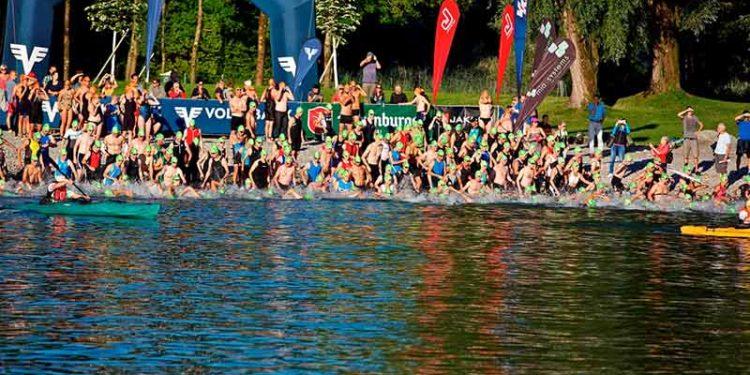 Startschuss zum Trans Vorarlberg Triathlon