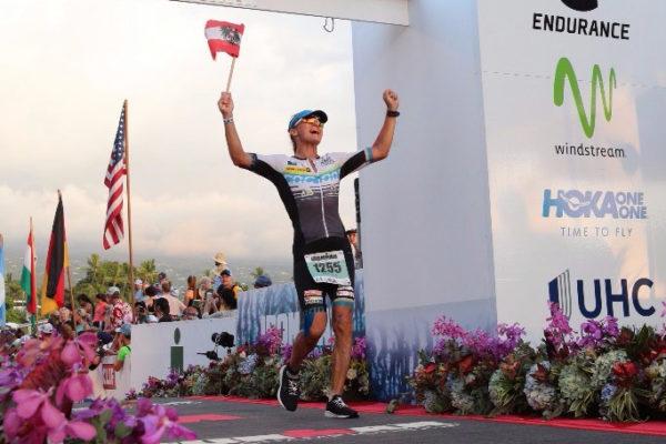 Michaela Rudolf krönt Karriere mit IRONMAN Weltmeistertitel 4
