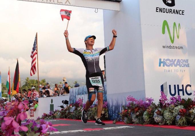 Michaela Rudolf krönt Karriere mit IRONMAN Weltmeistertitel 1