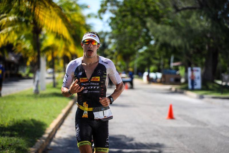 Ungefährdet zum Sieg lief Sebastian Kienle beim IRONMAN Cozumel 2017