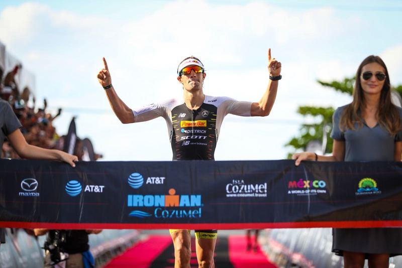 Sebastian Kienle siegt mit Streckenrekord beim IRONMAN Cozumel 2017