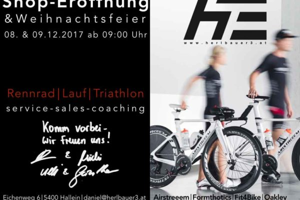 Herlbauer eröffnen Triathlonshop in Salzburg 3
