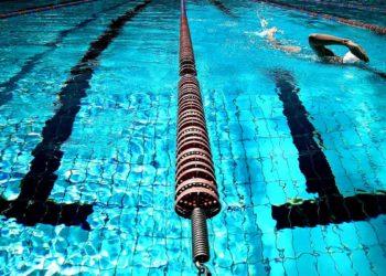 Schwimmtraining im Becken