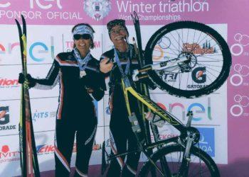 Marianne und Anton Hergouth | Photo: Steirischer Triathlonverband
