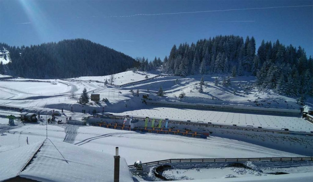 Slavinec Favoritin auf Wintertriathlon-Weltmeistertitel 1