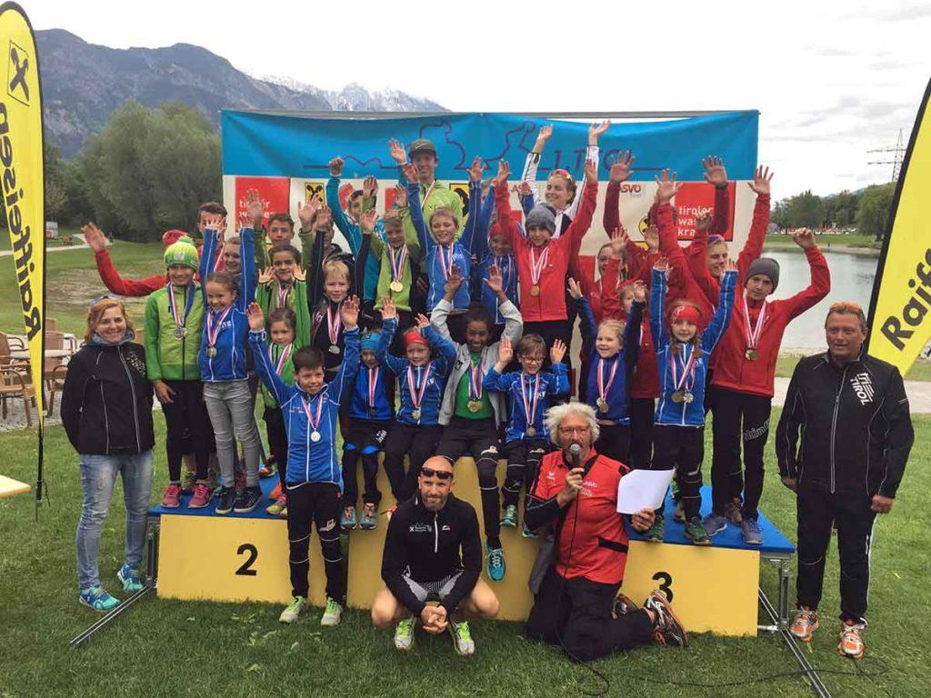Neun Nachwuchsbewerbe beim Triathlon Zug 1