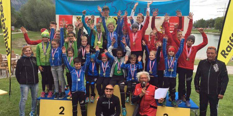Damit der Triathlon Nachwus auch 2018 wieder jubeln kann dampft der Triathlonzug im Jahre 23 seit seiner Gründung durch Tirol, Südtirol und Bayern !