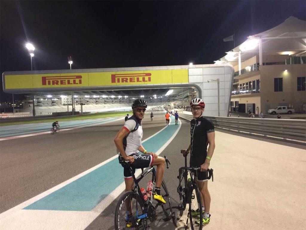 World Triathlon Serie startet in Abu Dhabi 1