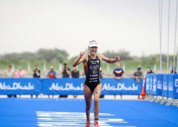 Rachel Klamer siegt als 21 Athletin bei einem World Triathlon Serie Bewerb | Foto: ITU