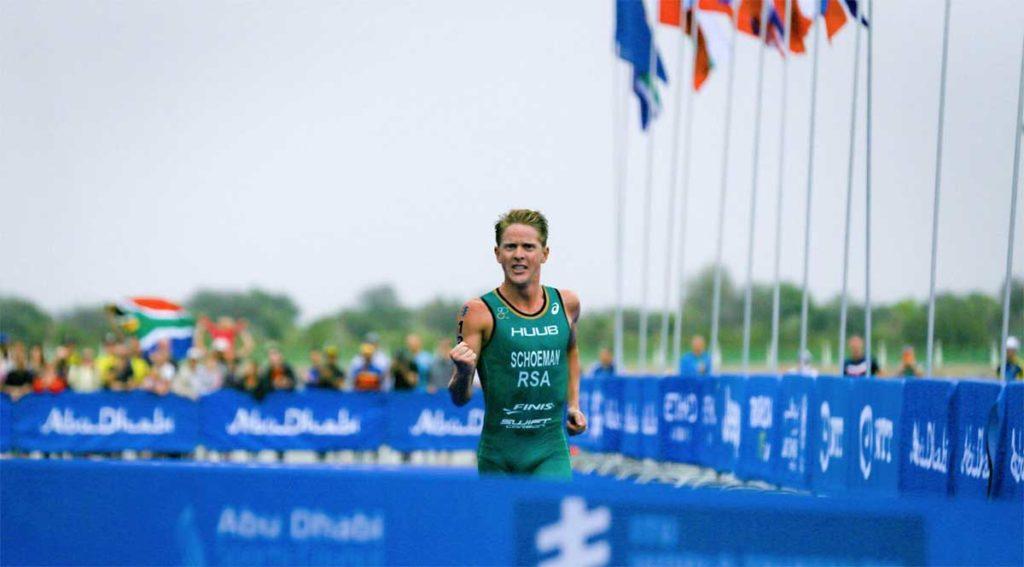 Schoeman gewinnt World Triathlon Serie Abu Dhabi | Österreicher krankheitsbedingt geschlagen 1