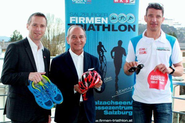 In einem Monat fällt der Startschuss zum 7. Salzburger Firmen Triathlon! 1