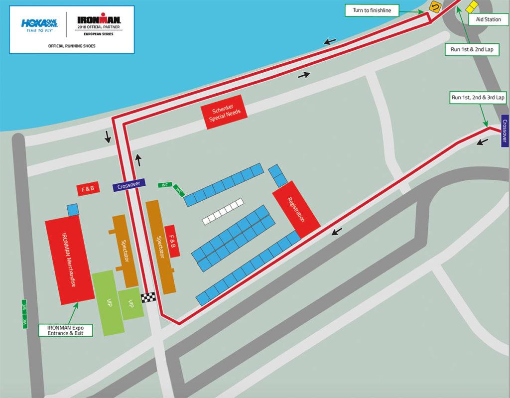 Neue Laufstrecke beim IRONMAN Austria 2018 1