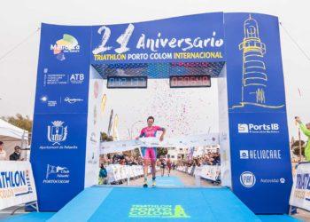 Natascha Schmitt siegt beim Triathlon Portocolom 2018