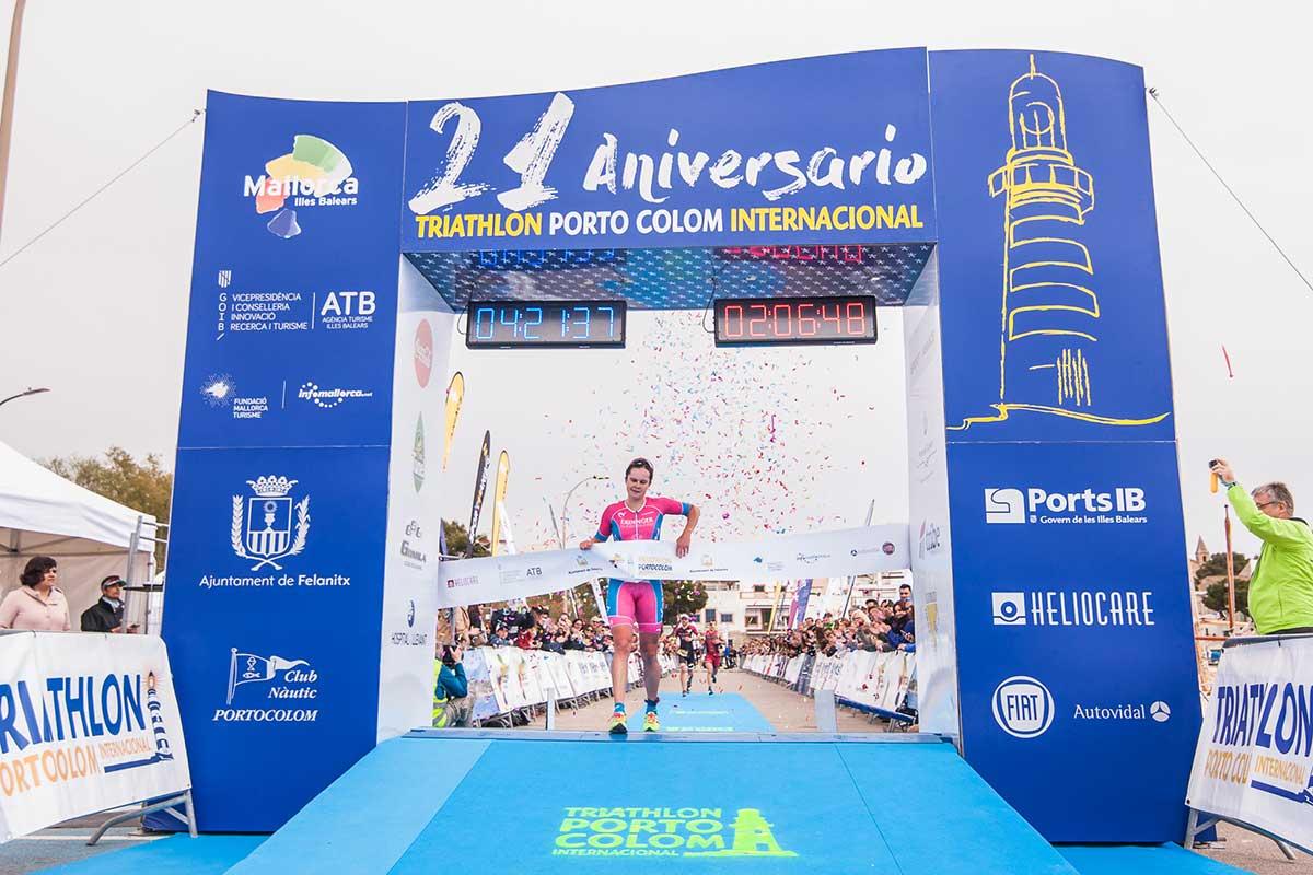 Rang Zwei für Gruber bei Triathlon Portocolom 111 1