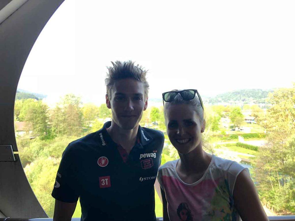 Thomas Steger beim IRONMAN Austria-Kärnten am Start 1