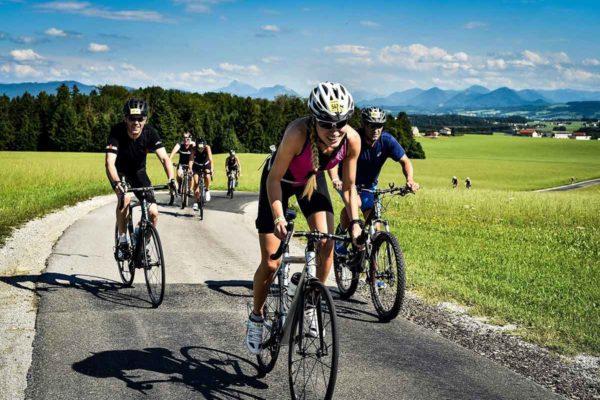 Giglmayr und Herlbauer bei Trumer Triathlon am Start 7