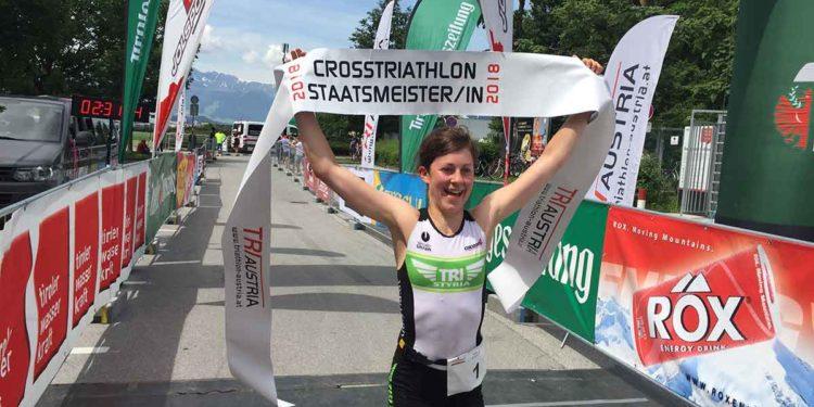 Aichner und Lienhart holen sich Crosstriathlon-Staatsmeistertitel 1