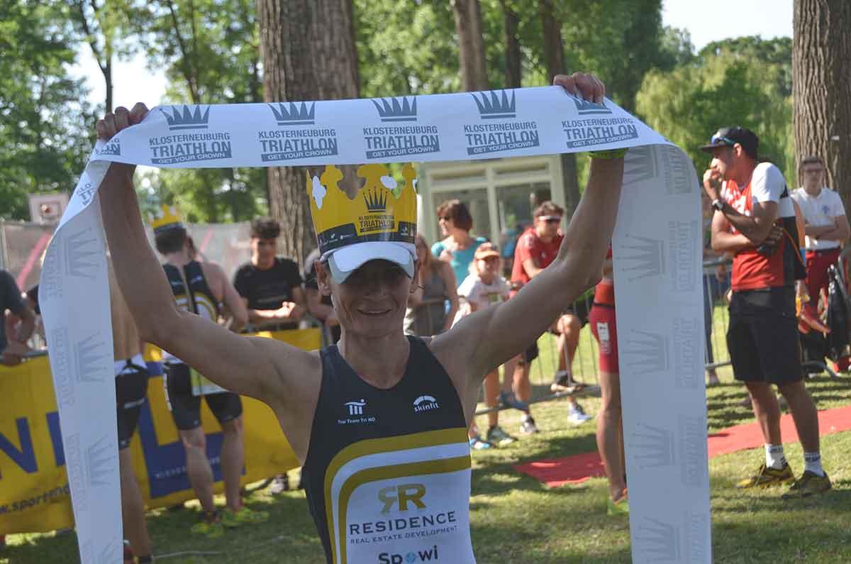Simone Fürnkranz siegt beim Klosterneuburg Triathlon 2018 | Foto: trinews