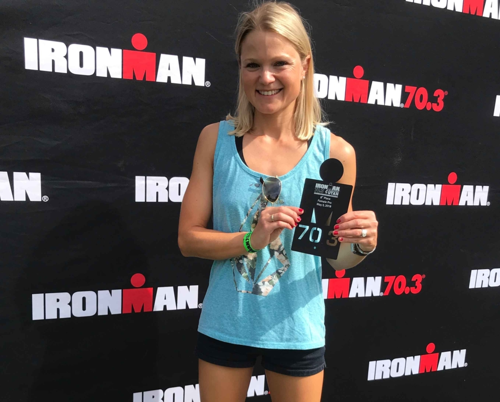 Michi Herlbauer beste Europäerin beim Ironman 70.3 St. George 1