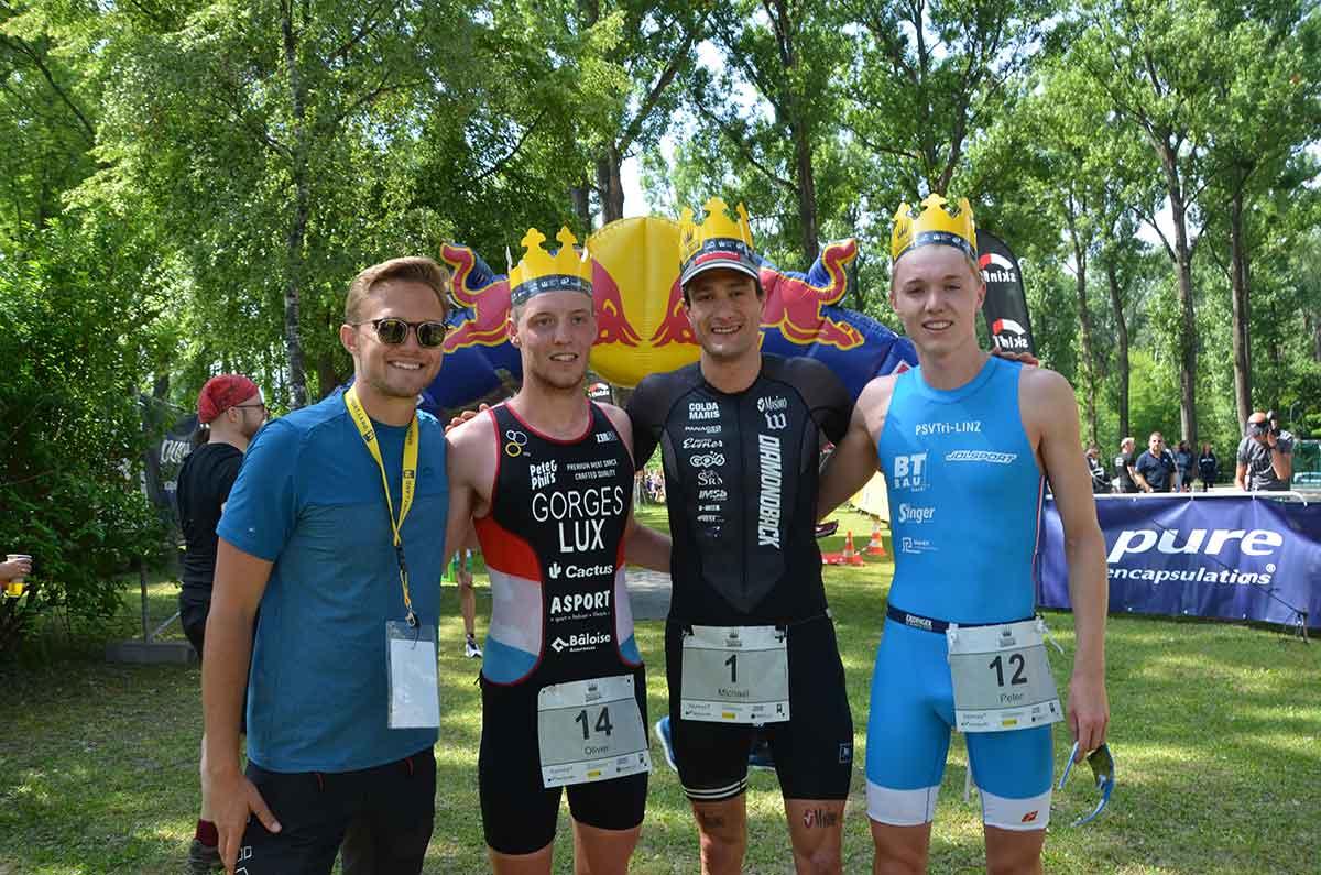 Sprint: Vilic und Weiss gewinnen Klosterneuburg Triathlon 1