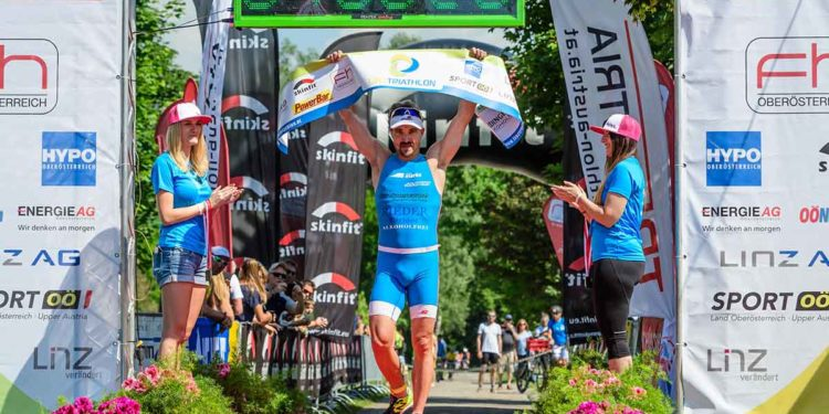 Gerald Will kennt das Gefühl des Siegens beim Linz Triathlon   Foto: Trirun