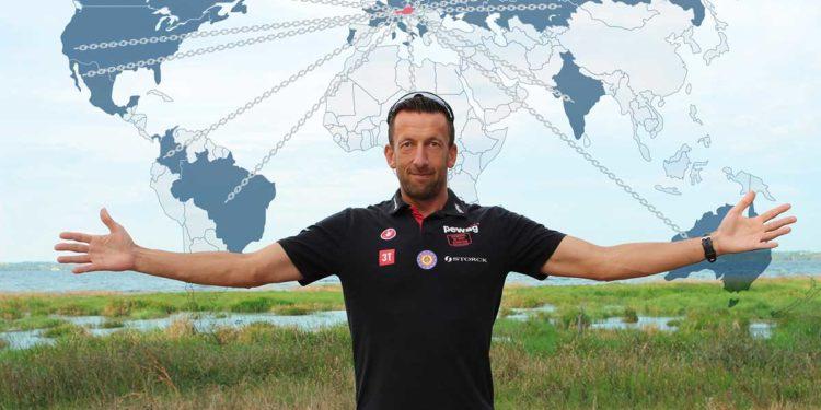 Marino Vanhoenacker schreibt erneut Geschichte und gewinnt auf allen Kontinenten IRONMAN Rennen