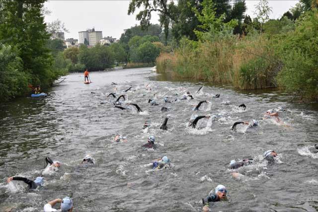 Vienna Swim Open eröffnen Österreichische Freiwasser-Saison 1