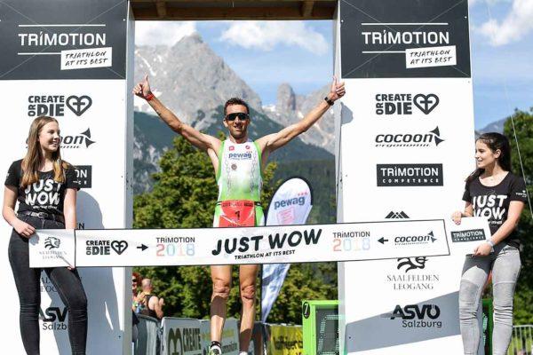 Trimotion: Titelverteidiger Marino Vanhoenacker siegt mit Streckenrekord 3