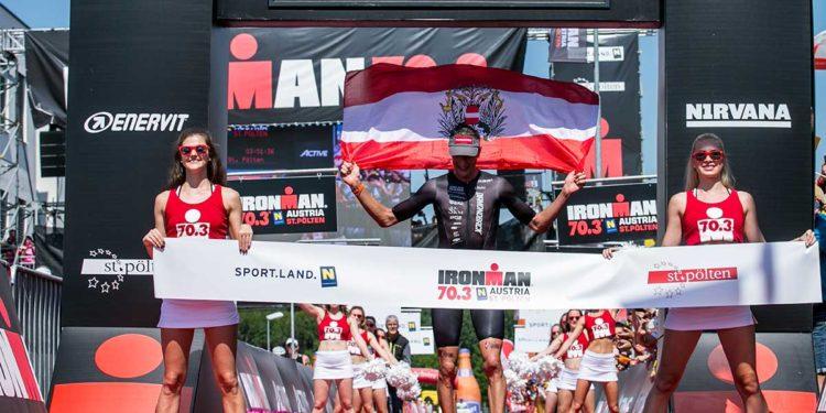 Michi Weiss gewinnt den IRONMAN 70.3 St. Pölten 2018 | Foto: Getty Images