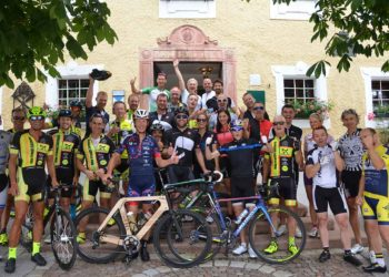 Sport meets Romantik bei der Radausfahrt vor dem Hotel Gmachl in Elixhausen