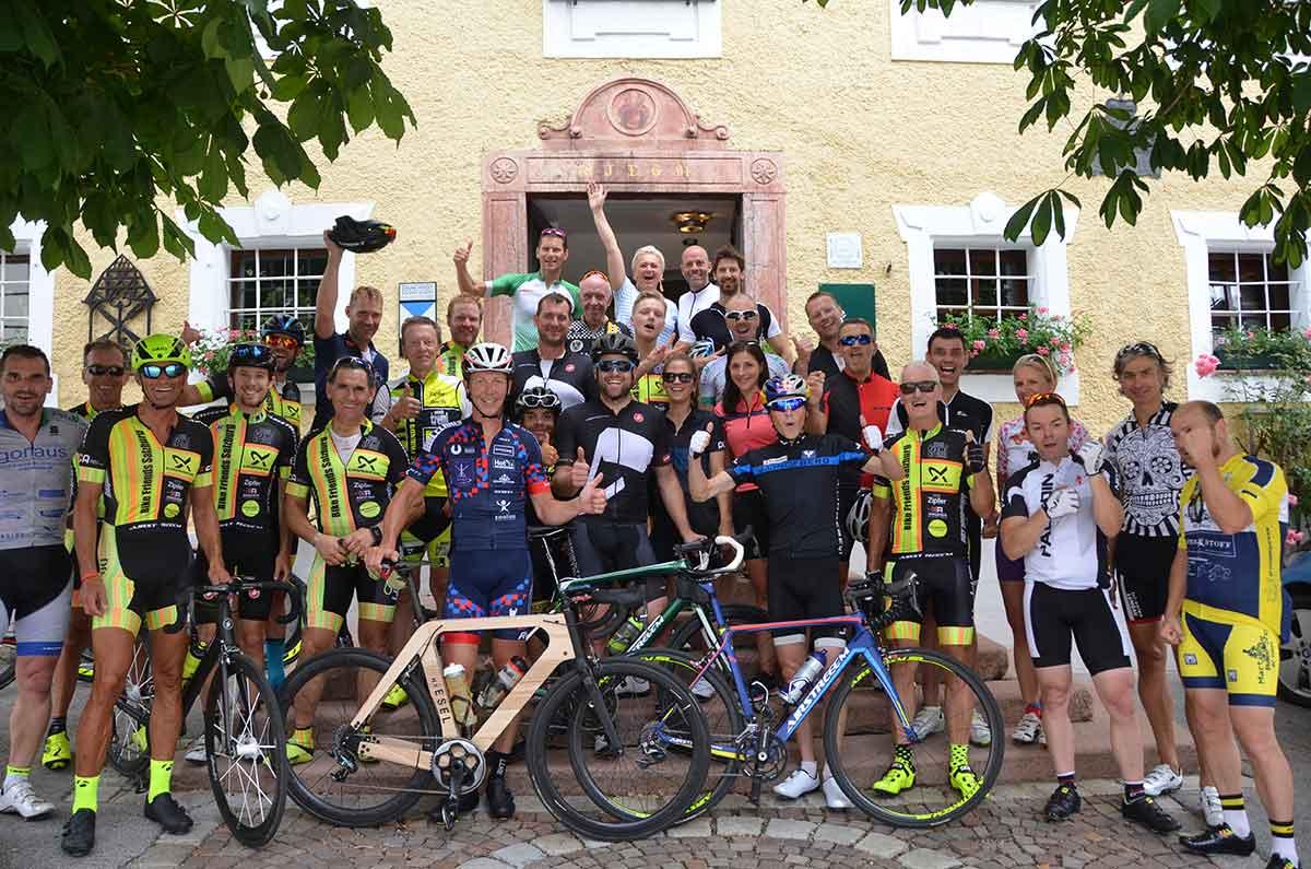 """""""Sport meets Romantik"""" bei Trumer Triathlon Streckenbesichtigung 1"""