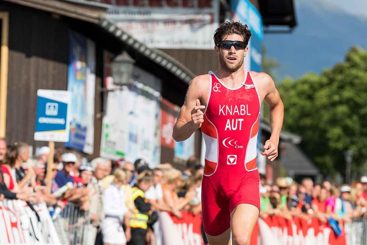 Knabl läuft zu bestem World Triathlon Serie Platzierung 1