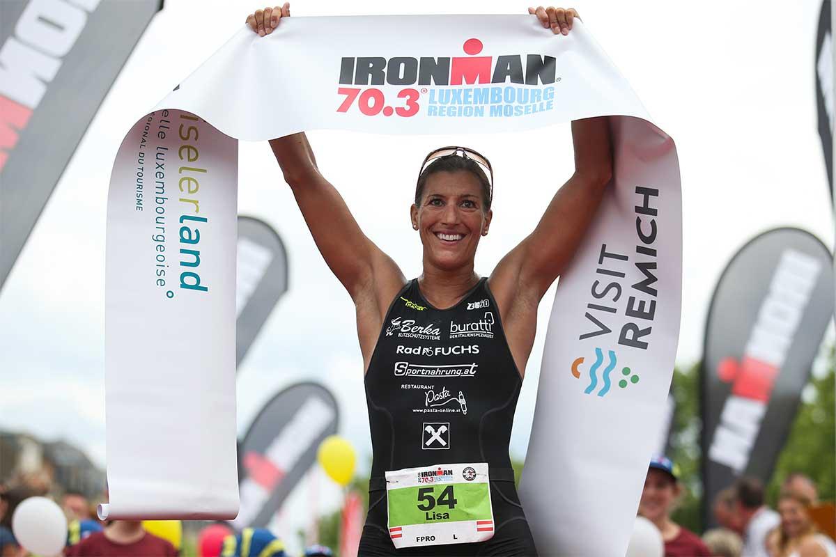 Lisa Huetthaler siegt beim IRONMAN 70.3 Luxembourg 6